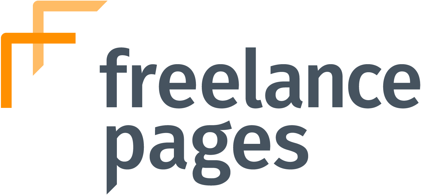 freelance pages Logo bunt