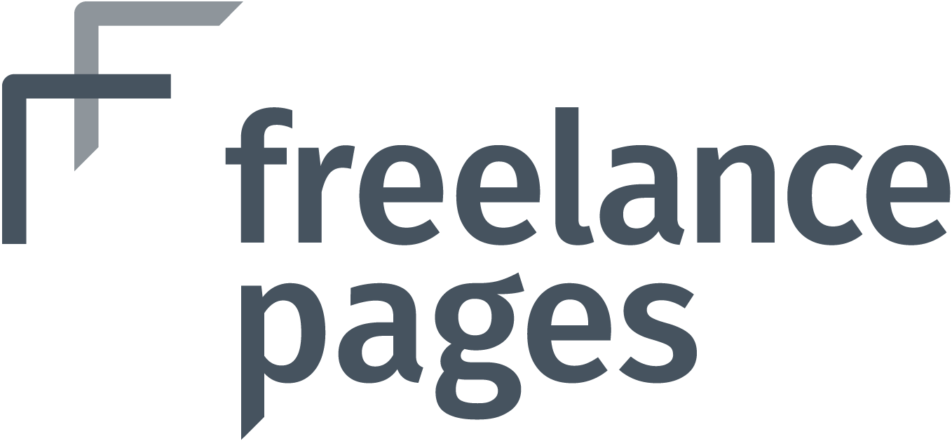 freelance pages Logo Graustufen