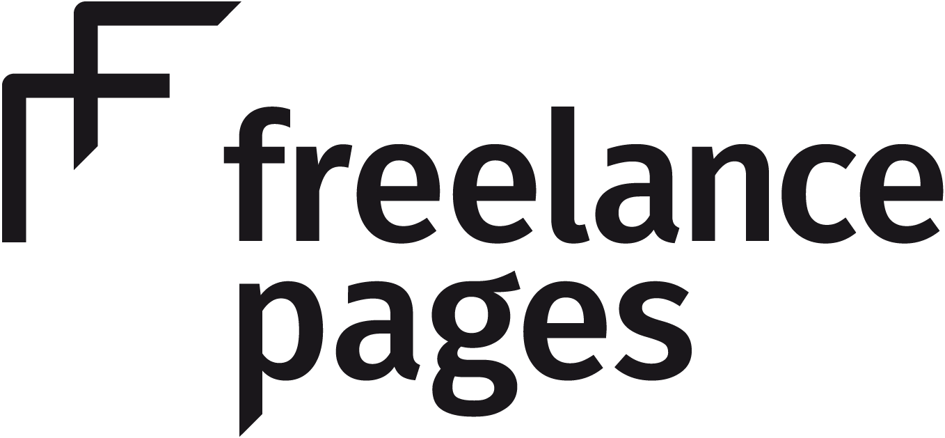 freelance pages Logo schwarz
